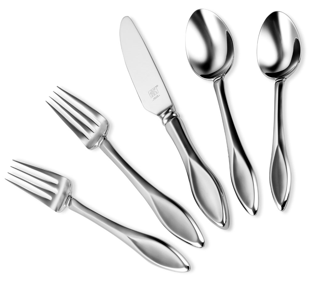 Zwilling J.A. Henckels 5-pc. Place Setting Royal Court Stainless Steel Flatware Set