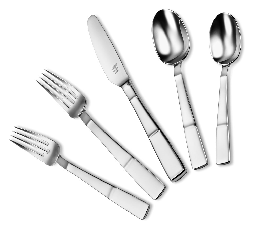 Zwilling J.A. Henckels 5-pc. Place Setting Lustre Stainless Steel Flatware Set