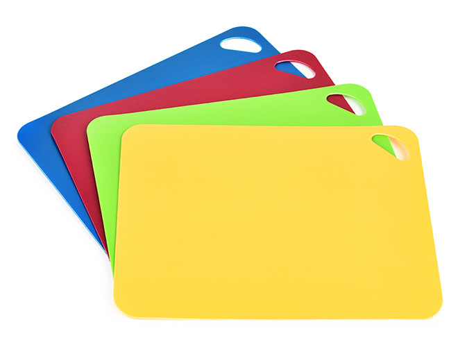 Cutlery And More Heavy Duty Flexible Cutting Board Set 4