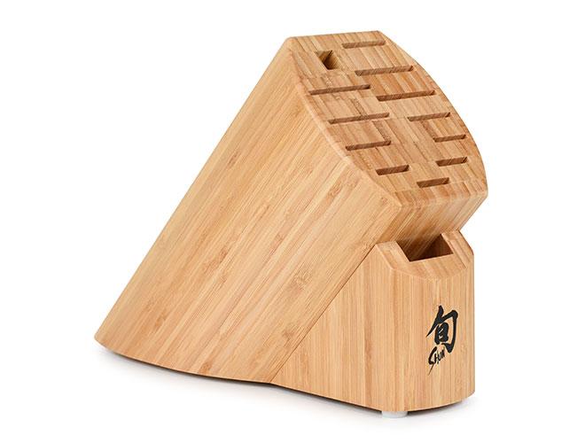 Shun Bamboo Knife Blocks