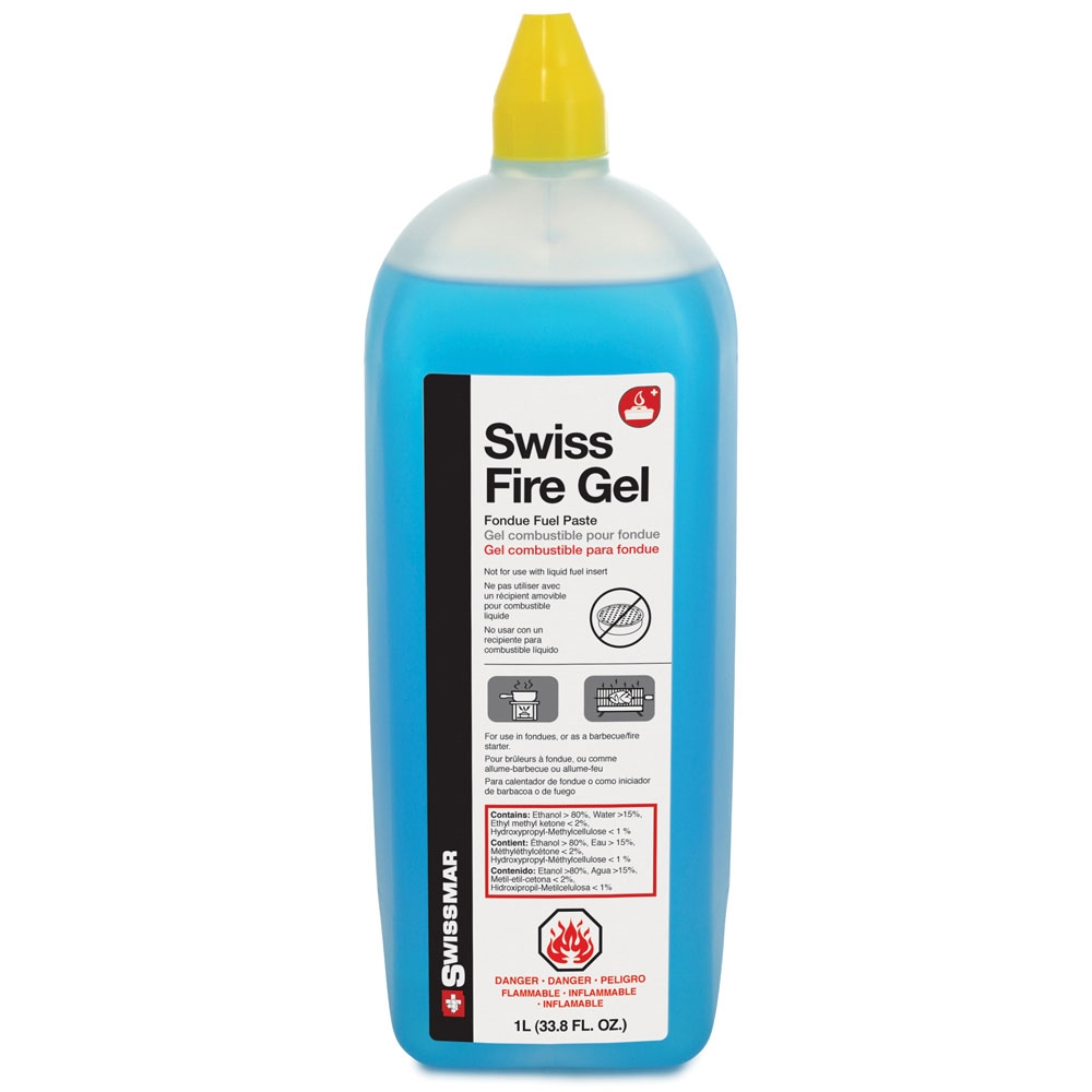Swissmar 34oz Swiss Fire Gel Fondue Fuel