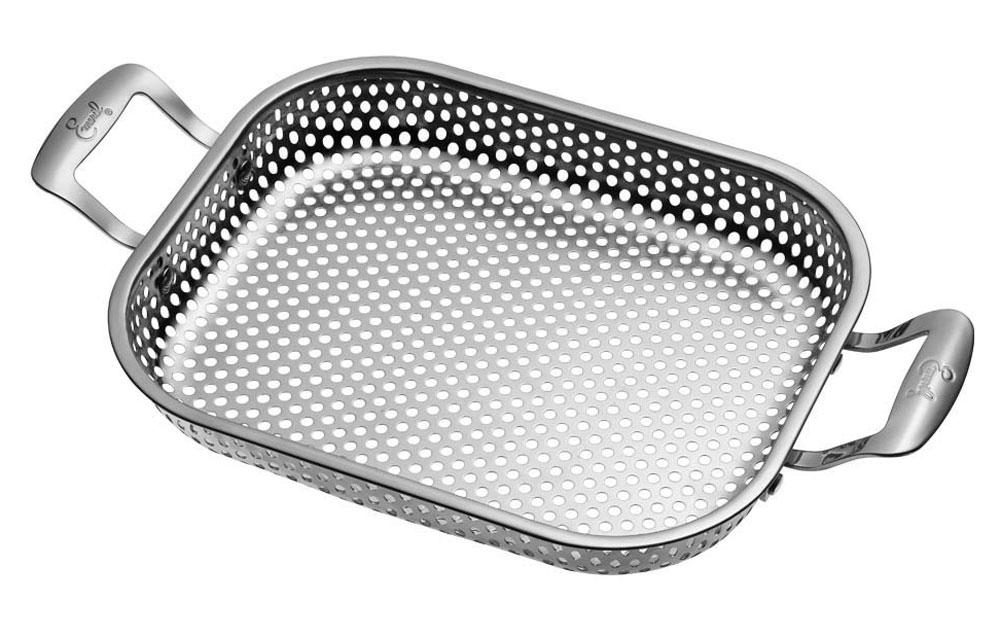 """Emerilware 11x9"""" Stainless Steel Rectangular Roaster"""