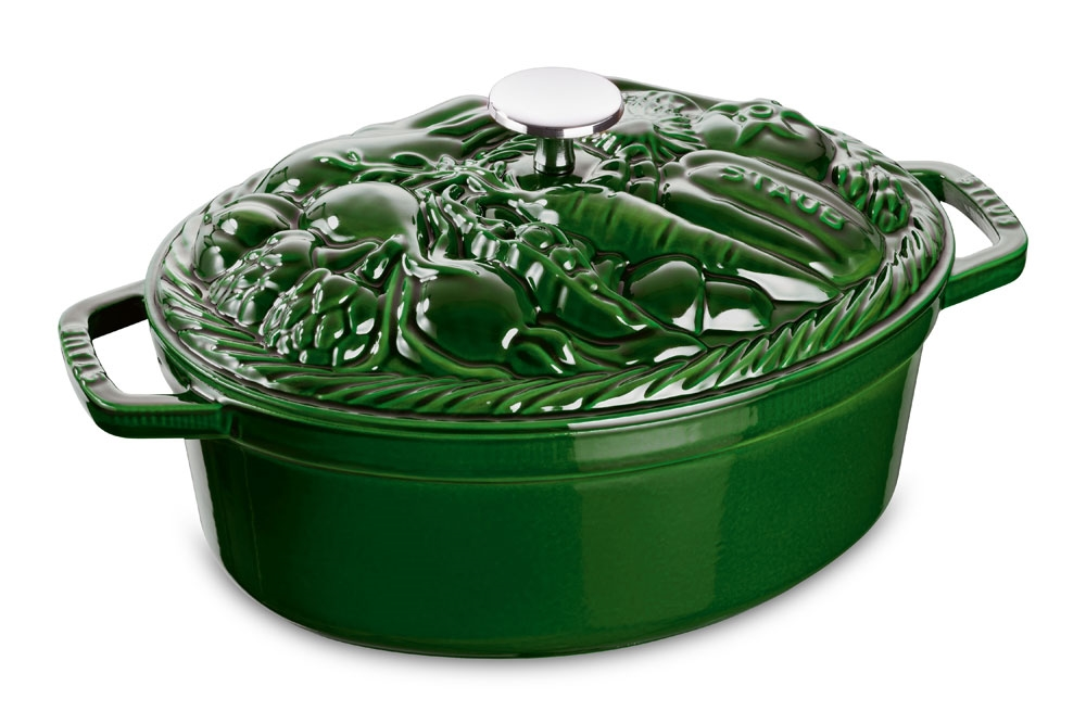 Staub Vegetable Cocotte 4 25 Quart Basil Cutlery And More