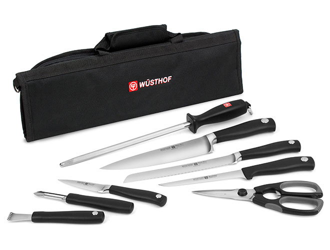 Wusthof 9 Piece Culinary Knife Roll Kit