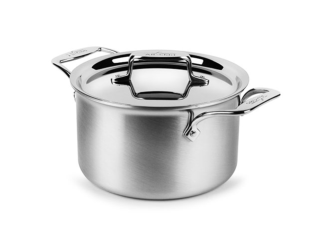 All-Clad d5 Brushed Stainless 4-quart Soup Pot