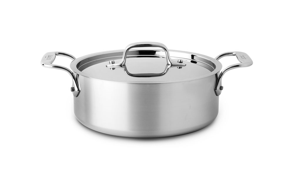 All Clad D3 Stainless Casserole 2 5 Quart Cutlery And More