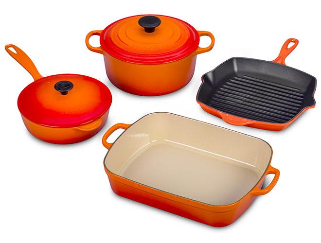 Le Creuset Signature Cast Iron 6-piece Cookware Sets
