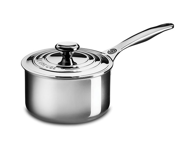 Le Creuset Stainless Steel Saucepans