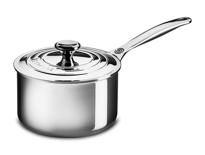 Le Creuset Stainless Steel Saucepans