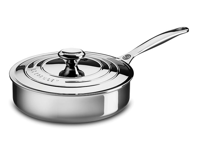 Le Creuset Stainless Steel Saute Pans