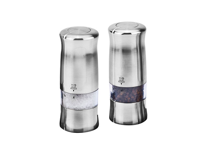 "Peugeot Zeli 5.5"" Electric Salt & Pepper Mill Set"