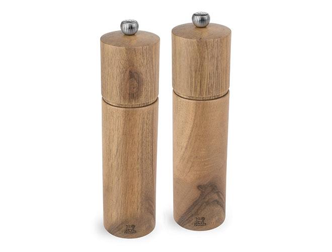 "Peugeot Chatel 8"" Walnut Wood Salt & Pepper Mill Set"