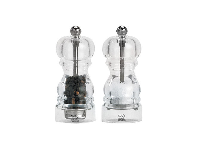Peugeot Nancy Acrylic Salt & Pepper Mills