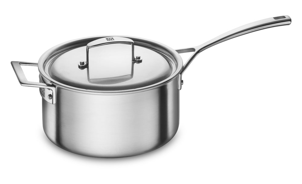 Zwilling J.A. Henckels Aurora 4-quart Stainless Steel Saucepan