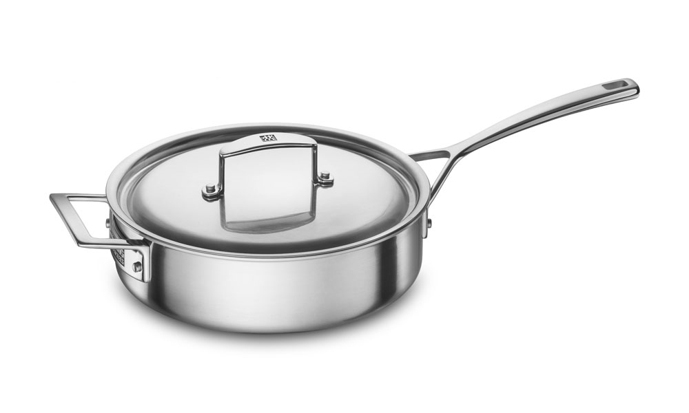 Zwilling J.A. Henckels Aurora 3-quart Stainless Steel Saute Pan
