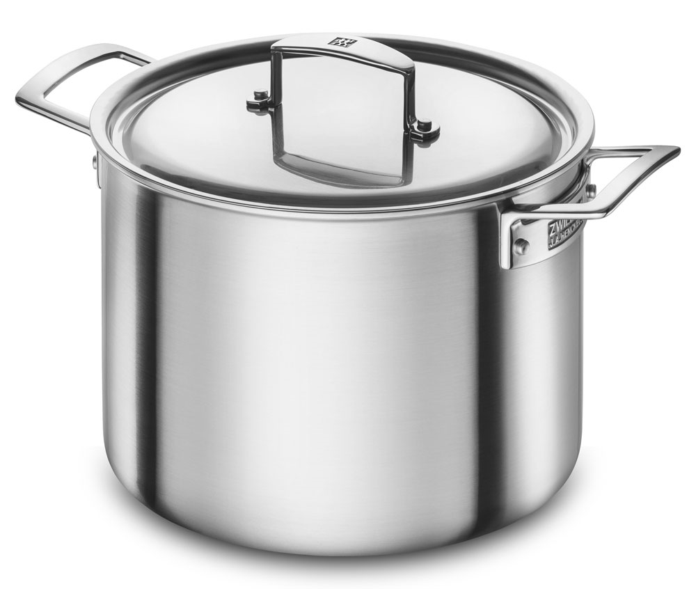 Zwilling J.A. Henckels Aurora 8-quart Stainless Steel Stock Pot