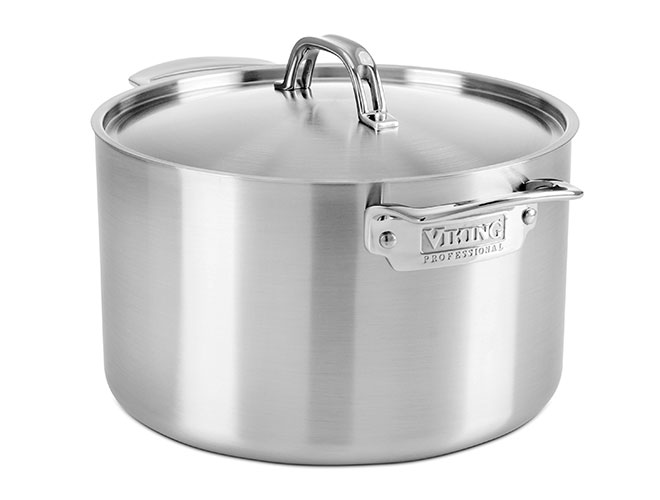 Viking Professional 5-ply Stainless Steel Stock Pots