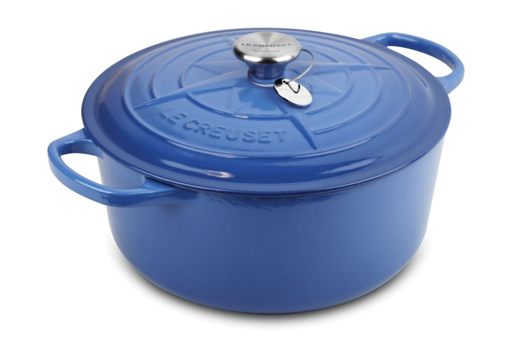 Le Creuset Signature Cast Iron 5 Quart Mariner Star Limited Edition French Oven