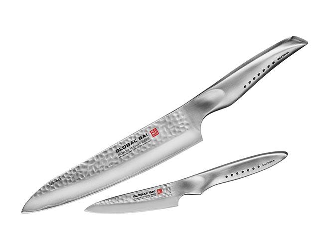 Global Sai 2 Piece Starter Knife Set