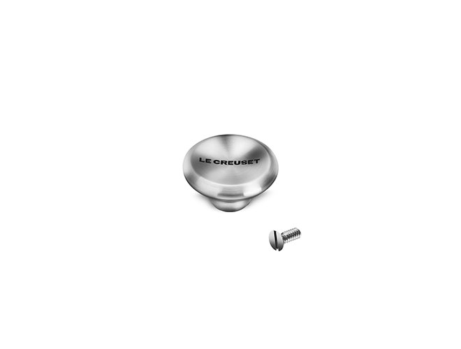 Le Creuset Signature Cast Iron Small Stainless Steel Knob