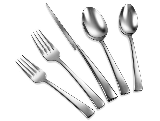 Zwilling J.A. Henckels 45 Piece Bellasera Stainless Steel Flatware Set, Satin Finish