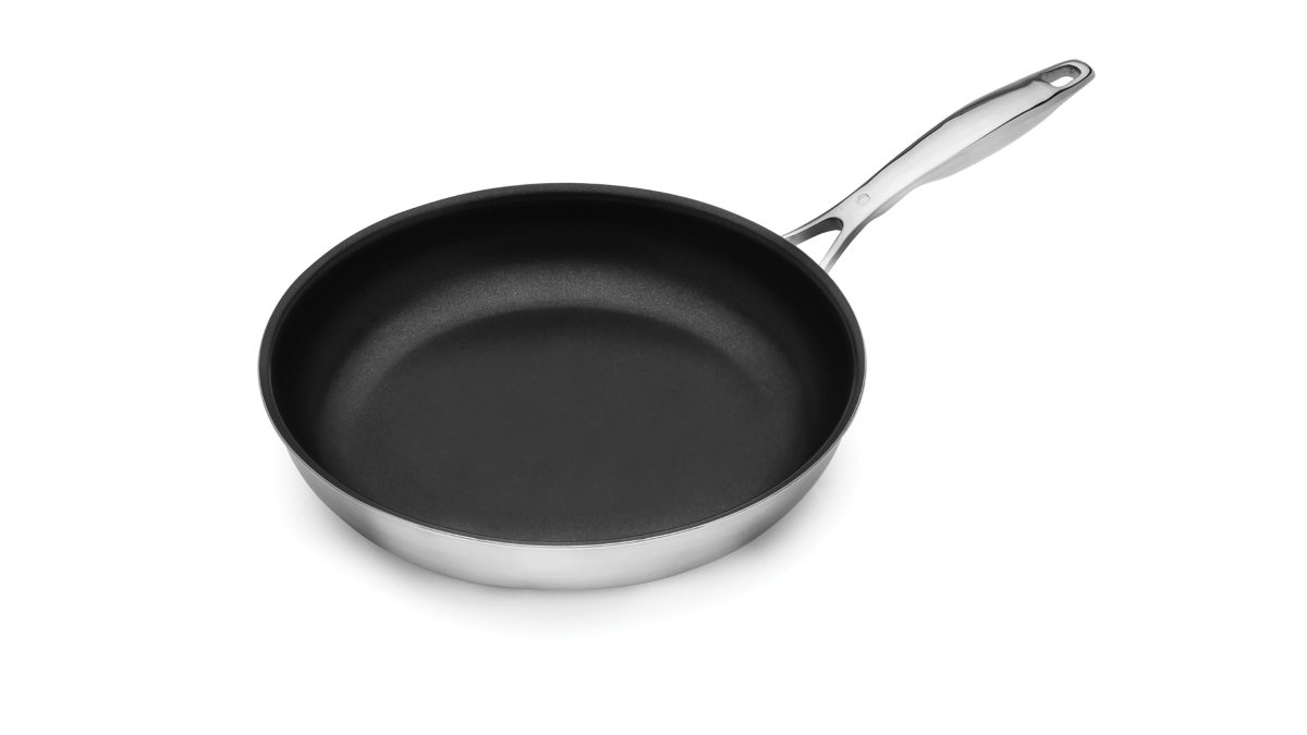 Swiss Diamond Prestige Clad Stainless Steel Nonstick Skillets