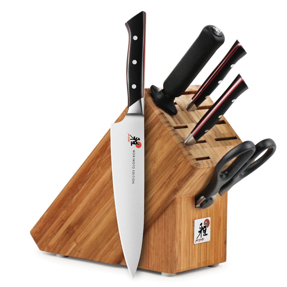 Miyabi Morimoto 600S 6 Piece Knife Block Set