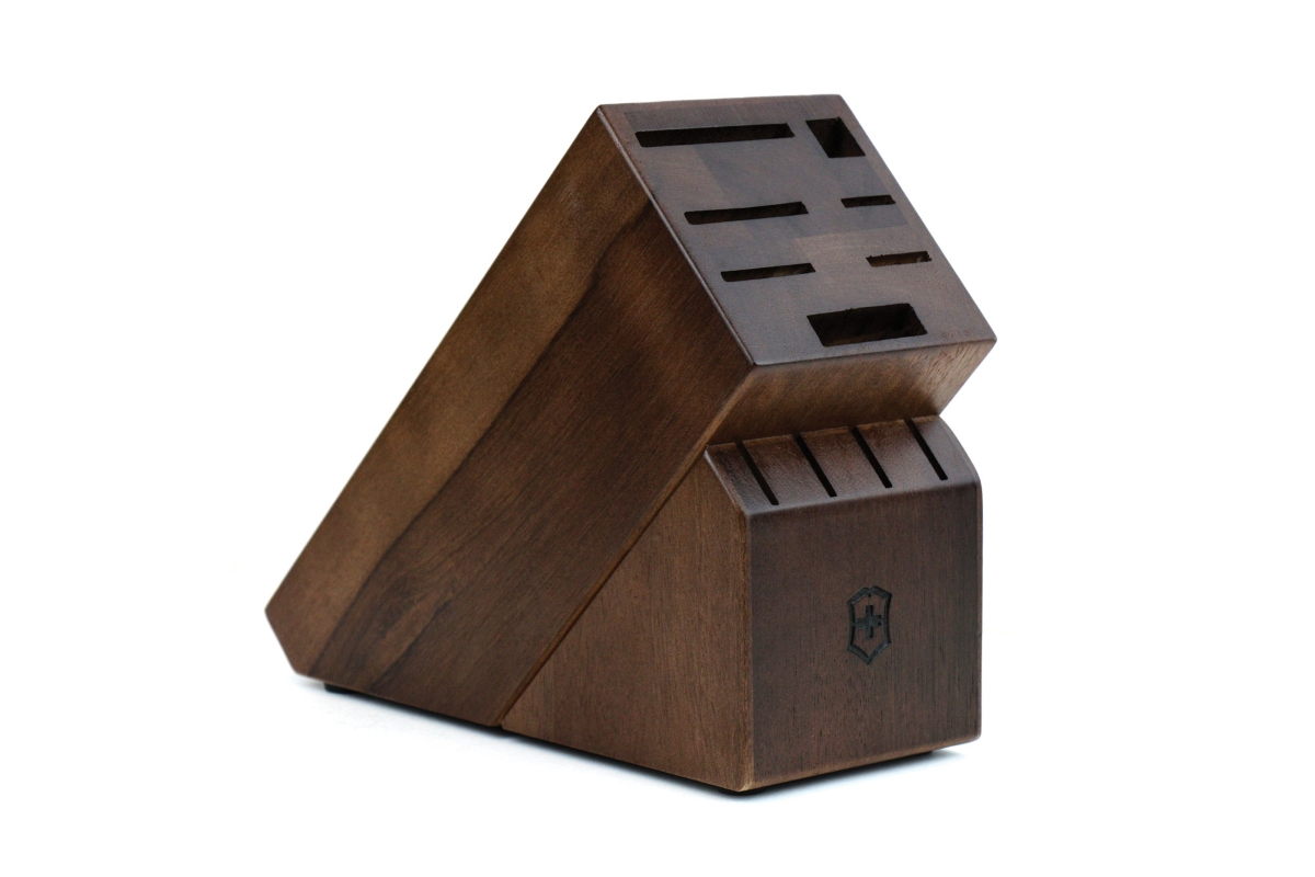 Victorinox 11 Slot Walnut Knife Block