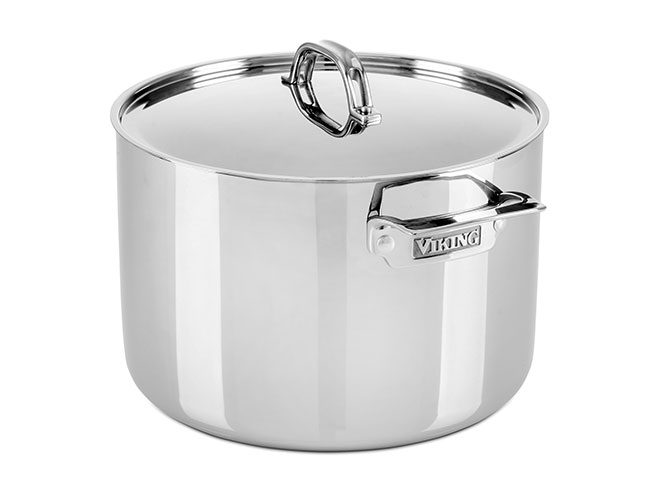 Viking 12-quart Tri-Ply Stainless Steel Stock Pot