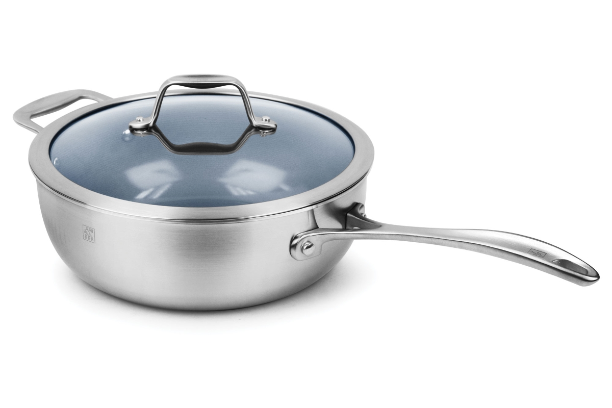 Zwilling J.A. Henckels Spirit 4.6-quart Stainless Steel Ceramic Nonstick Perfect Pan