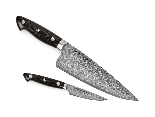 Kramer by Zwilling Stainless Damascus 2 Piece Starter Knife Set