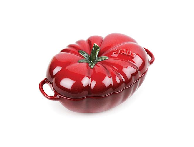 Staub Ceramic 0.5-quart Petite Tomato Cocotte
