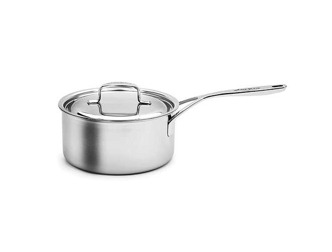Demeyere 5-Ply Plus Stainless Steel Saucepans