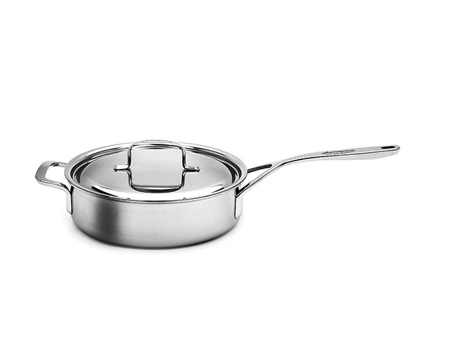 Demeyere 5-Ply Plus Stainless Steel Saute Pans