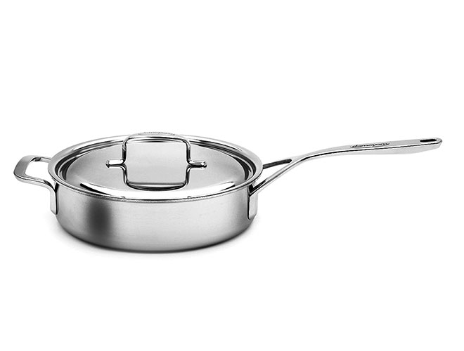 Demeyere 5-Plus Stainless Steel Saute Pans
