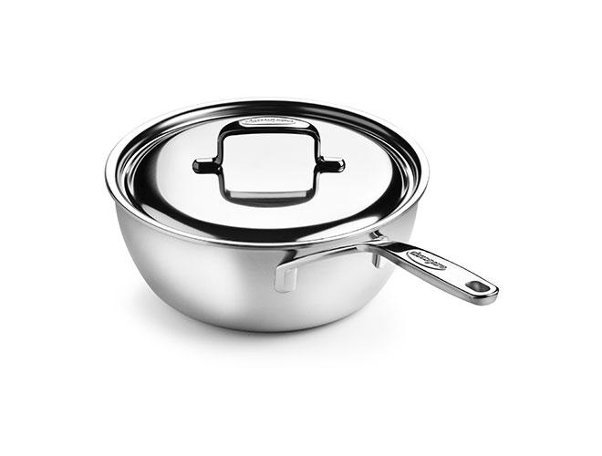 Demeyere 5-Plus 3.5-quart Stainless Steel Saucier