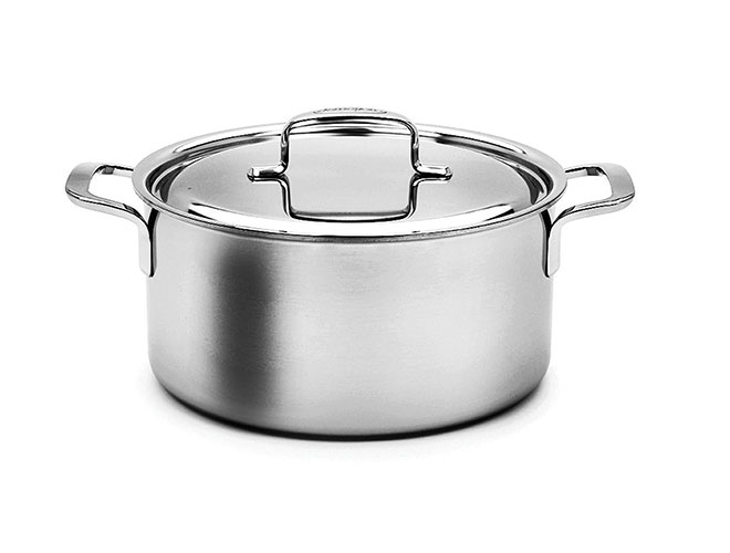 Demeyere 5-Plus 5.5-quart Stainless Steel Dutch Oven