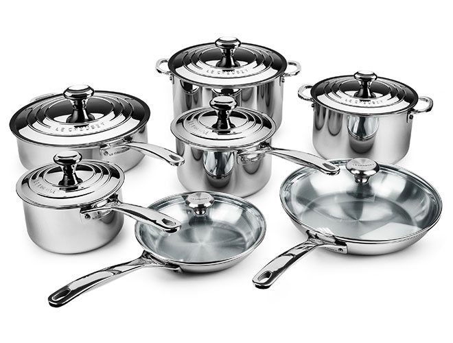 Le Creuset Stainless Steel 14 Piece Cookware Set