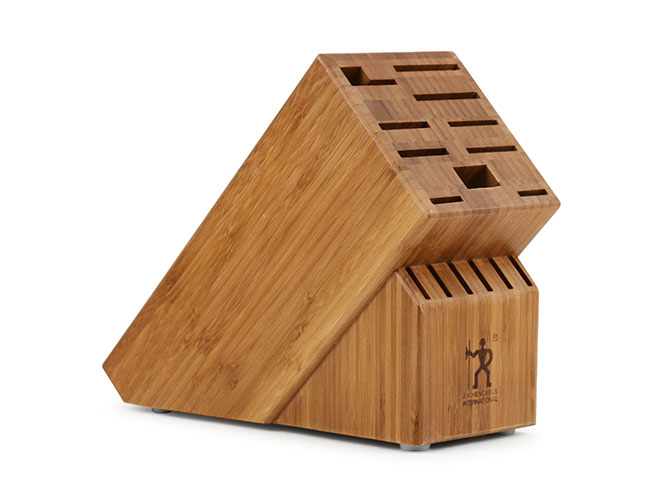 Henckels International 16 Slot Bamboo Knife Block