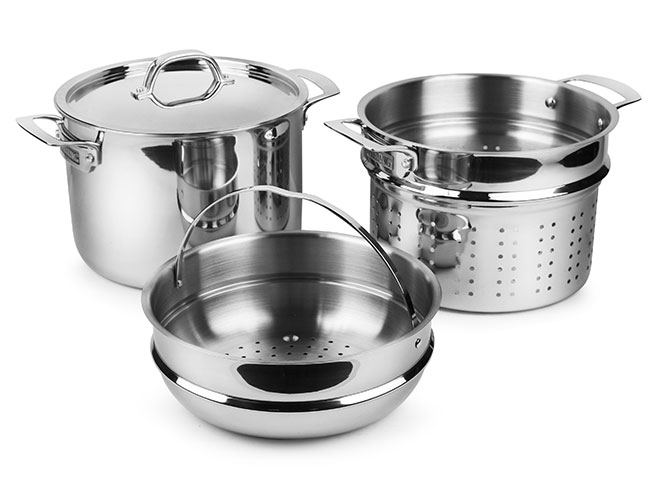 Viking 8-quart Tri-Ply Stainless Steel Multi Pot