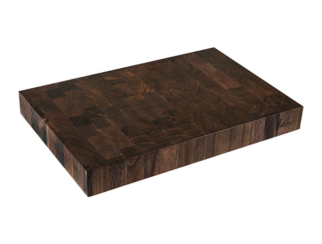 "Cotton and Dust 18x12x2"" The Hannah Grace Black Walnut End Grain Cutting Board"