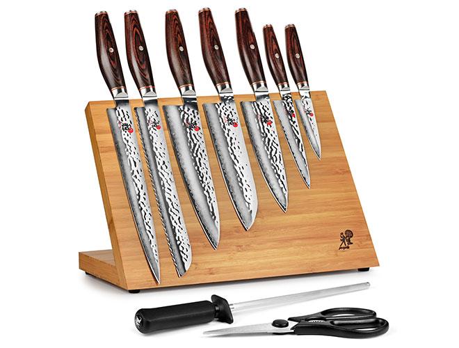 Miyabi Artisan SG2 10 Piece Magnetic Knife Stand Set