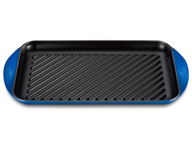 Le Creuset Cast Iron XL Double Burner Grill Pans