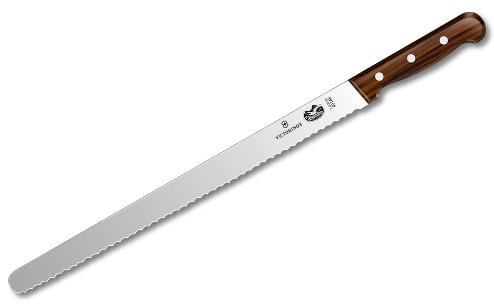"Victorinox Rosewood 14"" Bread Knife"