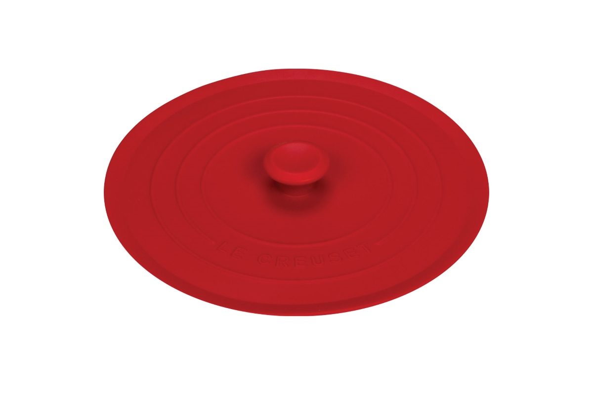 """Le Creuset 8"""" Cherry Red Silicone Lid"""