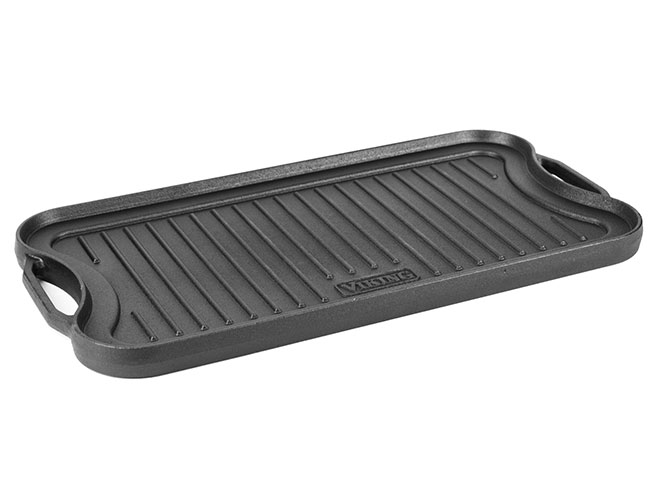 "Viking 20"" Cast Iron Reversible Griddle/Grill Pan"