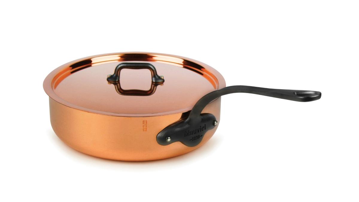 Mauviel M'heritage 150C2 Copper Saute Pans