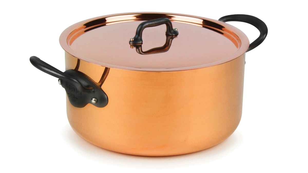 Mauviel M'heritage 150C2 6.4-quart Copper Stock Pot