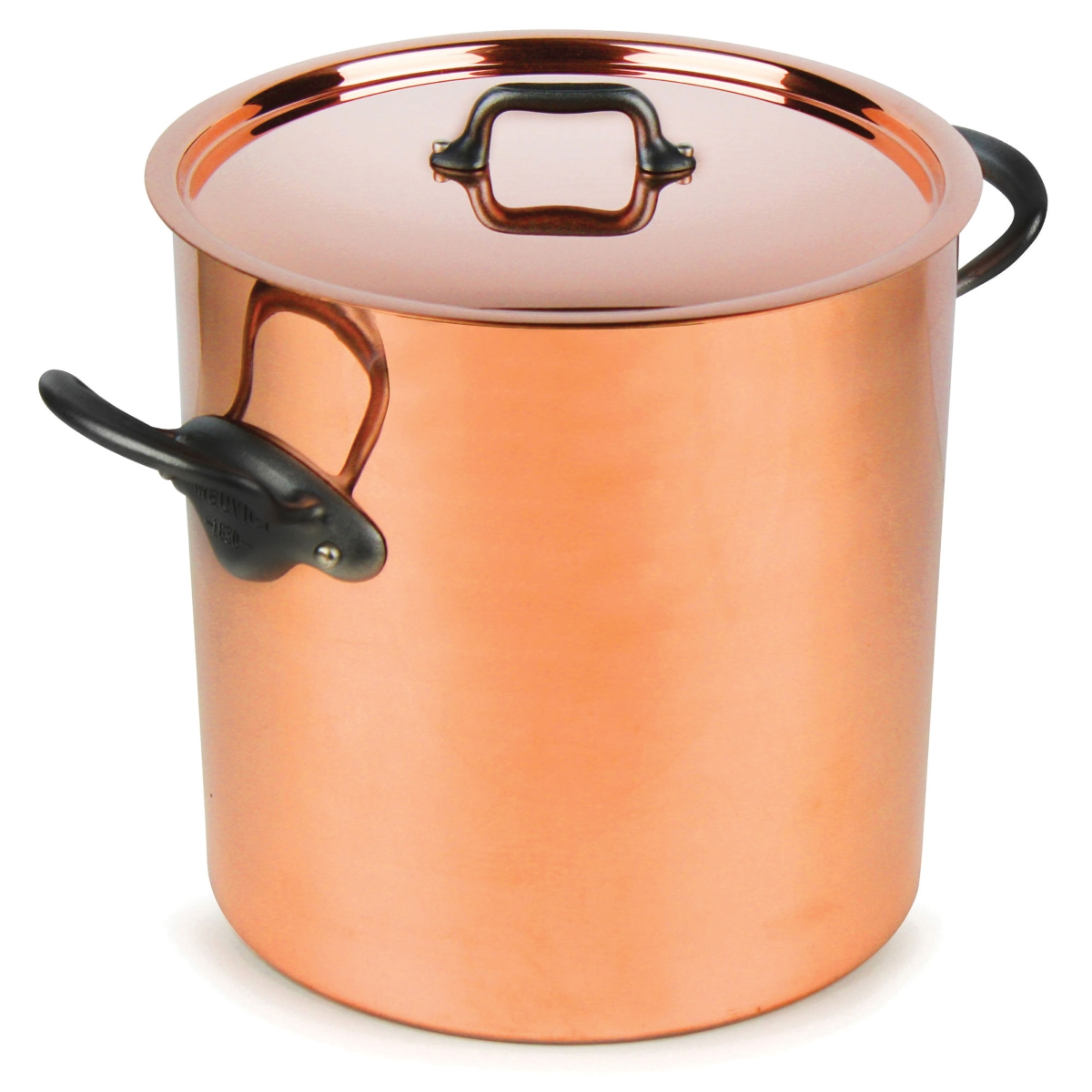 Mauviel M'heritage 150C2 11.7-quart Tin Lined Tall Copper Stockpot