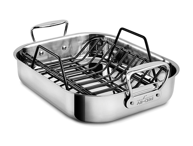 All-Clad Stainless Steel Roasting Pan with Rack